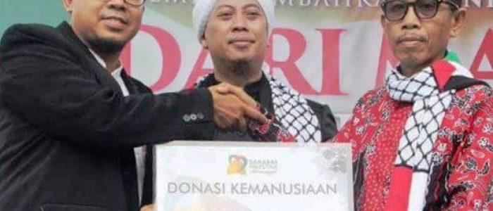 Khalil Asyari Ajak Warga Terus Bantu Palestina
