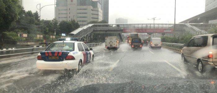 Hujan Deras,  Jakarta Banjir Lagi