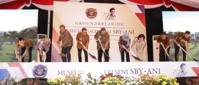 Terinspirasi Empat Mantan Presiden Amerika, SBY Resmi Dirikan Museum dan Galeri SBY-Ani