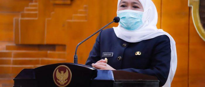 Mulai Kampanye, Khofifah Ingatkan Calon Kepala Daerah Peserta Pilkada Patuhi Prokes