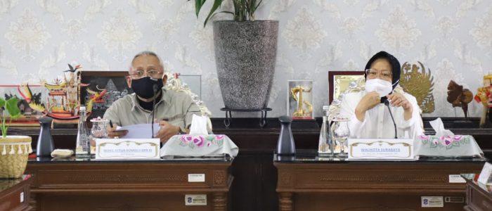 Jelang Pilkada Serentak 2020, Pemkot Surabaya Terima Kunker Komisi II DPR RI